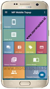 Aplikasi Android MP Mobile Topup Morena Pulsa