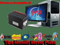 tips memilih server pulsa
