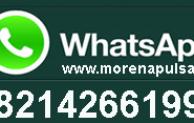 Transaksi Isi Pulsa Via WhatsApp Di Morena Pulsa