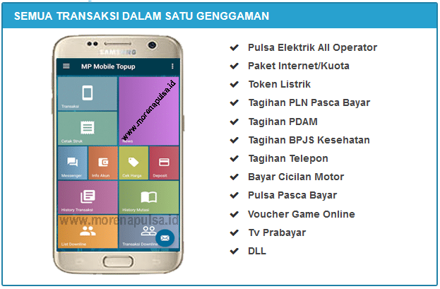 Server Pulsa Kalimantan Selatan