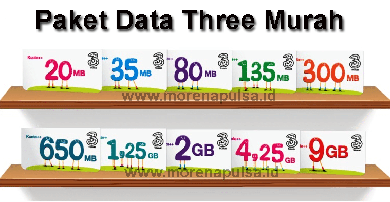 Paket Data Three Murah