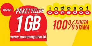 Sedia Paket Internet Indosat Yellow Termurah